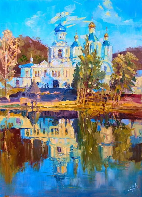 Svyatogorye. L'été. Refléxions.