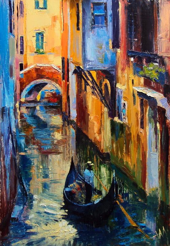 Italie. Venise. Pénombre.