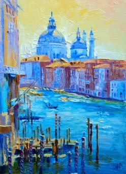 Venise. Canal. Matin.