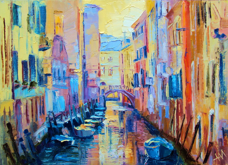 Italie. Venise. Soir.