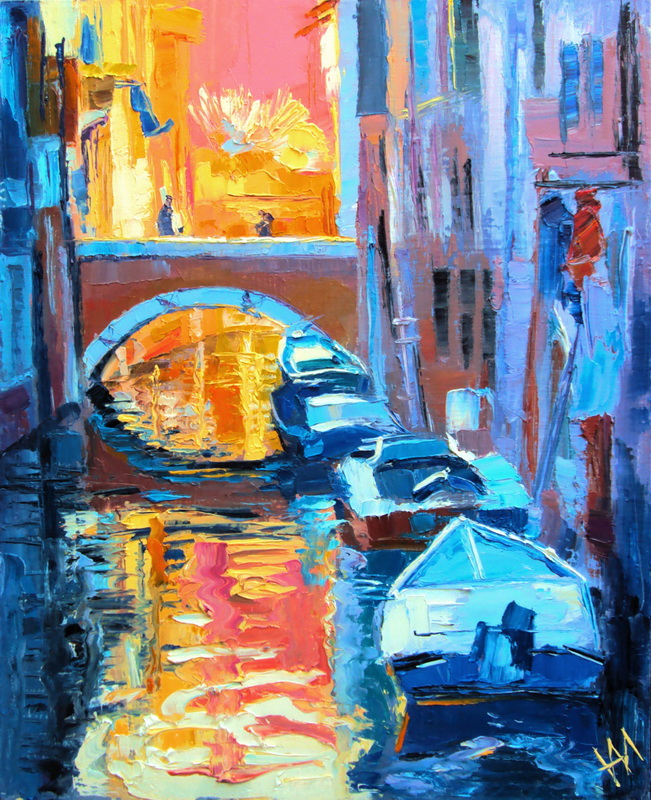 Italie. Venise. La lumière et l'ombre.