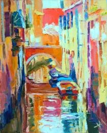 Italie. Venise. Un jour d'été.
