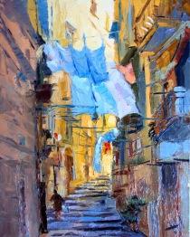 Italie. Rue. Air.