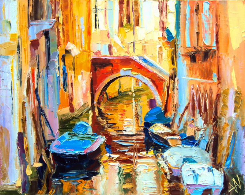 Venise. L'été. Lumière.