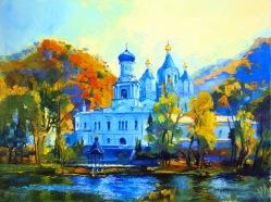 L'automne à Svyatogorsk