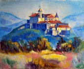 Nikita Manokhin. Ukraine. Mukatchevo. Château.