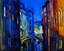 Lumière du soir. Venise.