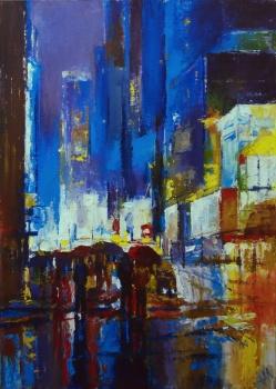 La pluie et la ville