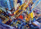 Nikita Manokhin. New York. Mouvement. Perspective.