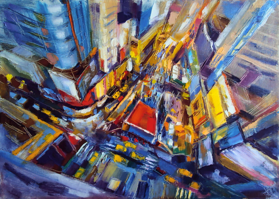 Nikita Manokhin. New York. Mouvement. Perspective.