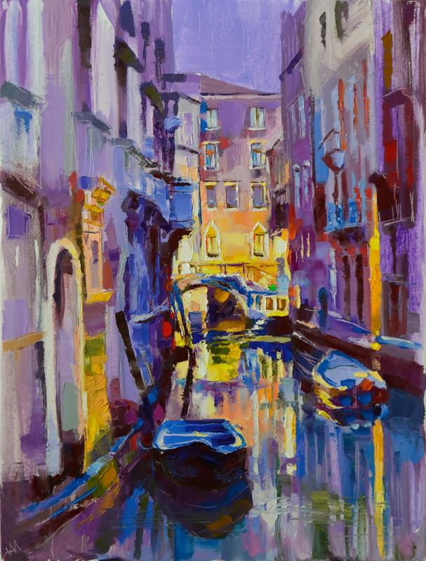Un soir à Venise.