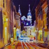 Lviv du soir.