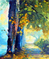 Rue d'automne