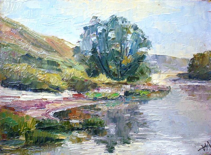 L'étang silencieux