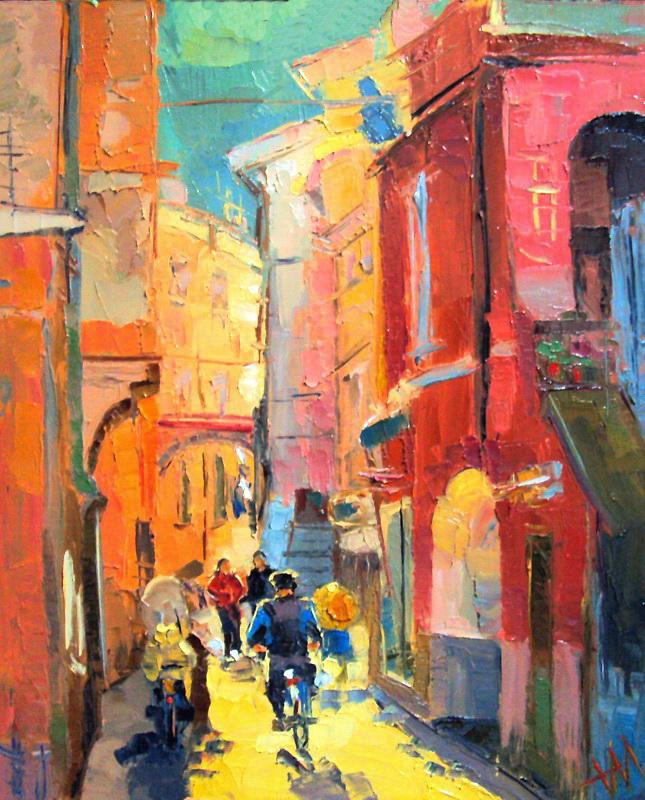Soleil en Italie